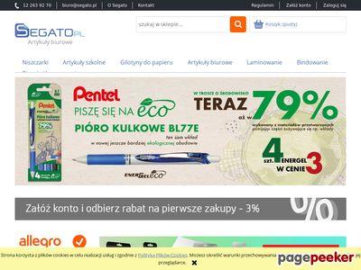 Segato.pl - artykuły biurowe sklep