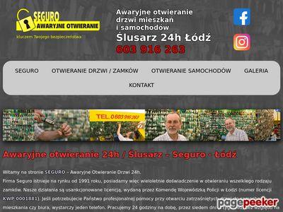 Awaryjne Otwieranie 24h - Seguro - Łódź