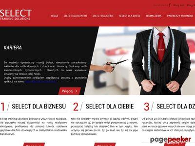 Szkoła językowa - Select-solutions.pl