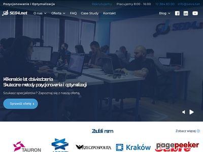 Pozycjonowanie Kraków SEO4.net