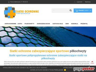 Siatki-sportowe.pl - siatki sportowe