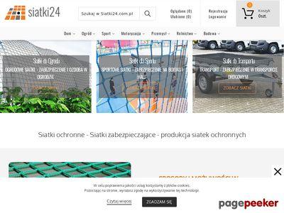 Siatki24.com.pl - siatka do zabezpieczeń