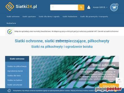 Siatki24.pl - siatka ochronna