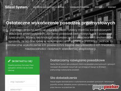Doczyszczanie posadzek przemysłowych - silicolsystem.pl
