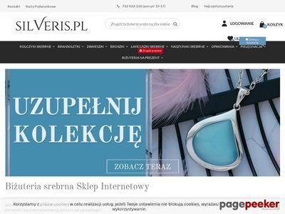 Kolczyki srebrne w silveris.pl