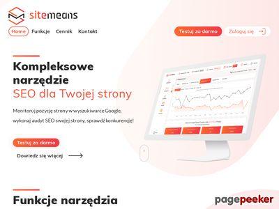 Analiza SEO - sitemeans.com