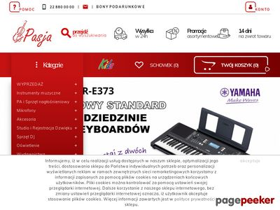 Instrumenty Klawiszowe - sklep-muzyczny.com.pl
