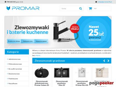 Zlewozmywaki - Promar