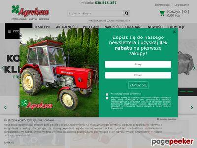 Części do maszyn rolniczych Sklep-rolnicze.eu