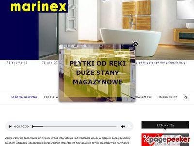 Marinex płytki ceramiczne - Marcin Sopinka