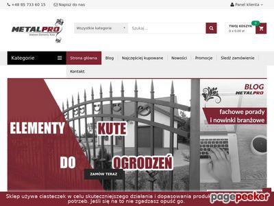 Sklep.metalpro.pl - elementy metalowe