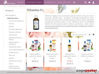 Witamina D3 Holistic