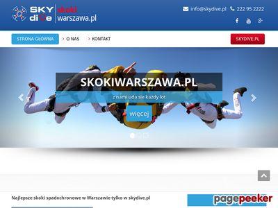 Skoki ze spadochronem skokiwarszawa.pl