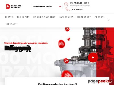 Manualne skrzynie biegów - skrzyniezajac.pl