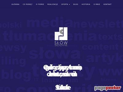 Http://www.slowskladanie.pl/