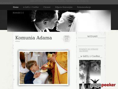 Fotograf ślubny na wesele i ślub