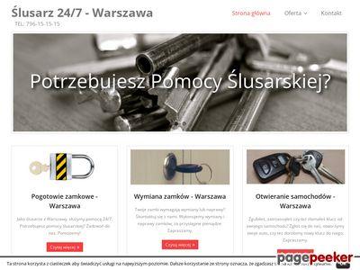 Serwis Zamków SZYFR Karol Kozłowski