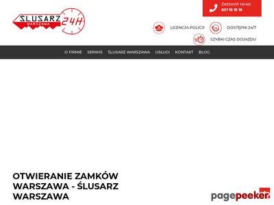 Awaryjne otwieranie Warszawa