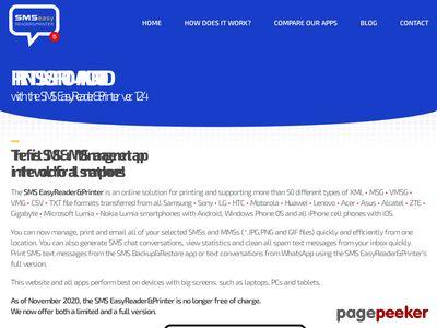 SMS easy Reader&Printer