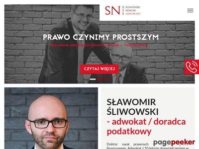 Śliwowski Nowak Adwokaci spółka partnerska