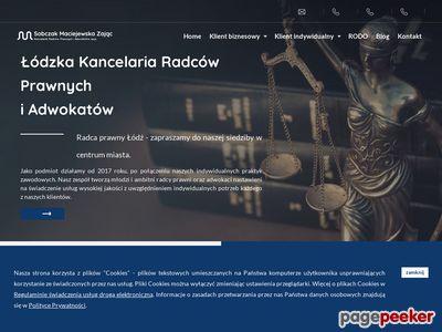 Kancelaria Radców Prawnych i Adwokatów Sobczak Maciejewska