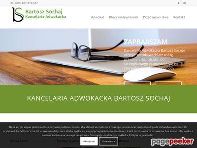 Kancelaria adwokacka Szczecin - Sochaj Bartosz
