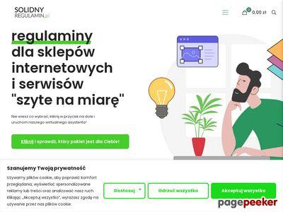 Regulamin do sklepu internetowego