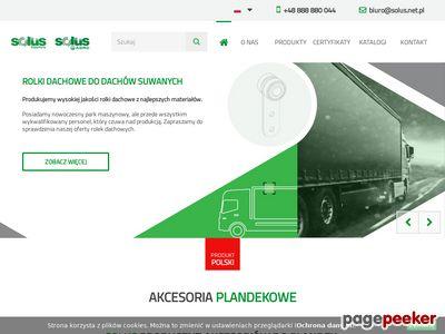 Akcesoria plandekowe - Solus