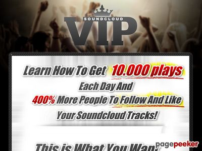 Soundcloud VIP - Learn how to increase your Soundcloud plays and followers