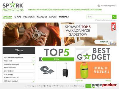 Gadżety firmowe - Spark-promotions.pl