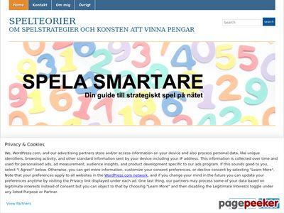 Spelteorier - vinna pengar på spel - http://spelteorier.wordpress.com