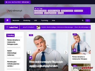 Poduszki ortopedyczne- spij-zdrowo.pl