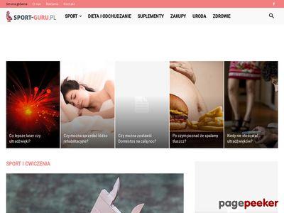 SportGURU - sklep stacjonarny i online dla biegaczy i triathlonistów