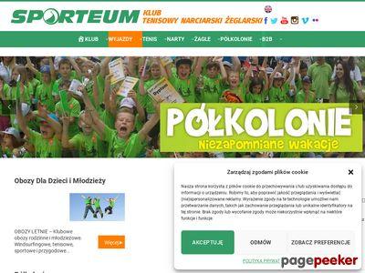 Obozy narciarskie, tenisowe Warszawa