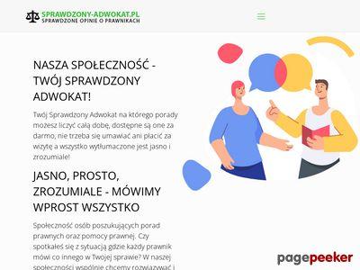 Adwokat warszawa prawo karne - sprawdzony-adwokat.pl