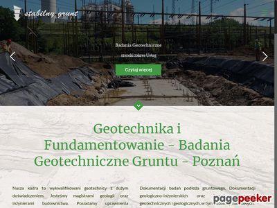 Stabilny Grunt- Badania Geotechniczne Wielkopolska