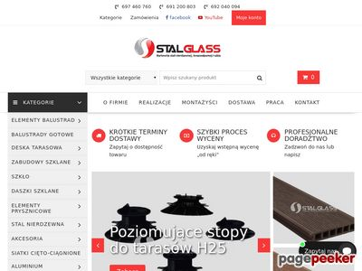 Stalglass.com - poręcze