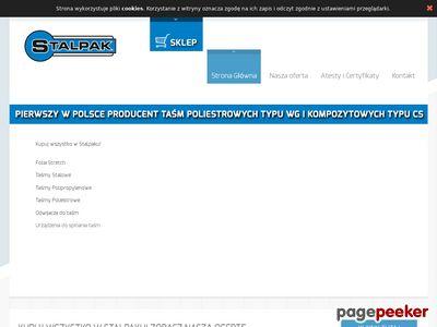 Taśma stalowa : stalpak.com.pl