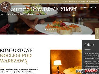 Stawisko Klaudyn hotel okolice Warszawy