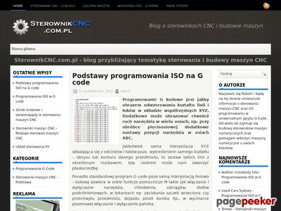 Obrabiarki CNC - blog SterownikCNC.com.pl