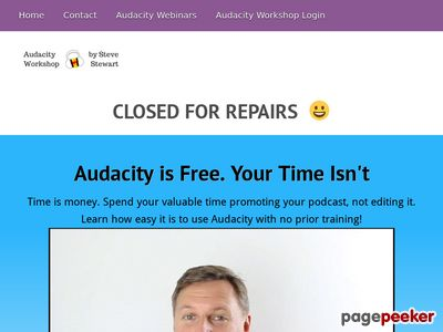 Audacity Workshop – Cut Your Podcast Editing In HALF