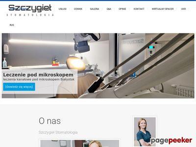 Stomatolog Białystok - stomatologia-szczygiel.pl