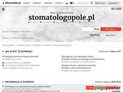 Prywatny Gabinet stomatologiczny Suchoń-Lysek