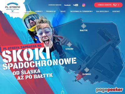 Skoki ze spadochronem - Strefa Silesia