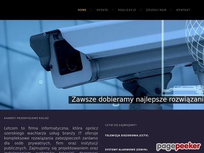 Kamery do monitoringu - StrefaZabezpieczen.pl