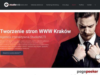StudioNCTI - tworzenie stron www Kraków