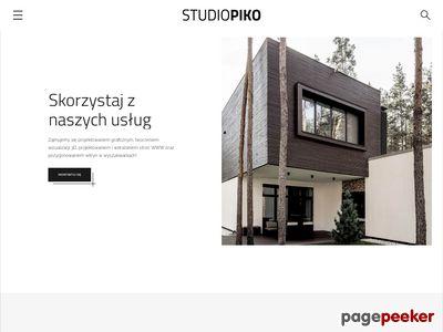 Studiopiko.pl - projekt graficzny