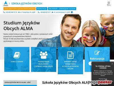 Szkoła języków ALMA Łódź
