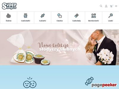 Superslodycze.pl – cukierki z logo