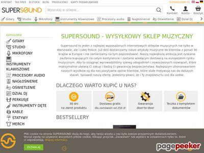 Hurtownia Muzyczna Supersound.pl
